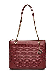 LARA MEDIUM TOTE - SCARLET