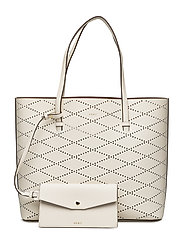 MARLEY LARGE TOTE - IVORY