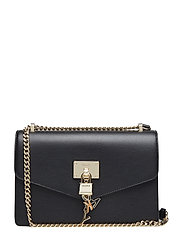 ELISSA- LG SHOULDER - BLK/GOLD