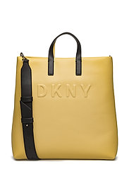TILLY- LG TOTE - YELLOW/BLK