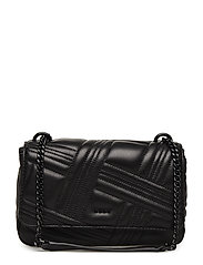 ALLEN- MD FLAP SHOUL - BLK/BLACK