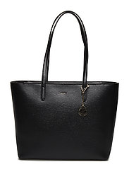 BRYANT- LG TOTE CARR - BLK/GOLD