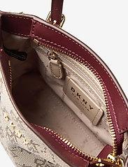 DKNY Bags - BO MINI CROSSBODY - handväskor - qs3 - khk/agd wine - 4