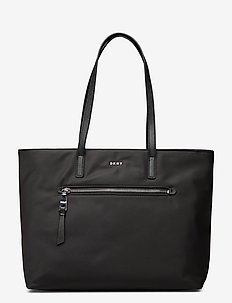 GIA TOTE - shoppere - black/silver