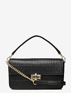 Bryant md Flap Xbody (Blkgold) (1779 kr) DKNY Bags