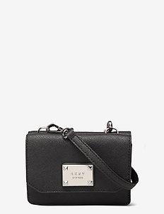 HANDBAG - clutches - bsv - black/silver
