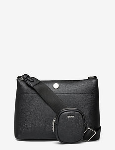 HANDBAG - shoulder bags - bsv - black/silver