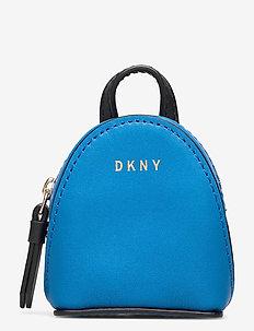 MINI BACKPACK BAG CH - sleutelringen - cerulean/blk