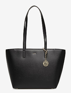 BRYANT MEDIUM TOTE - shoppere - blk/gold