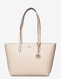 BRYANT MEDIUM TOTE - shoppers - eggshell