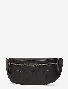 TILLY- BELT BAG - BLACK/SILVER