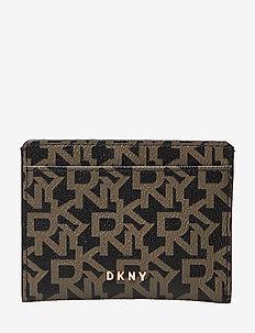 BRYANT-CARD HOLDER-L - card holders - ebony/blk