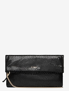 SALLY-CLUTCH - clutches - blk/gold