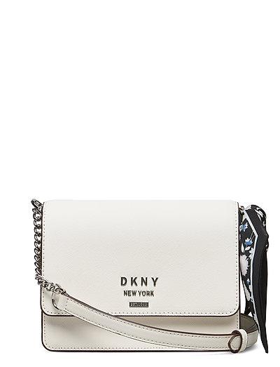 Liza-Sm Shoulder Flp Bags Small Shoulder Bags - Crossbody Bags Weiß DKNY BAGS