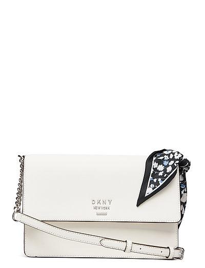 Liza-Md Shoulder Flp Bags Small Shoulder Bags - Crossbody Bags Weiß DKNY BAGS