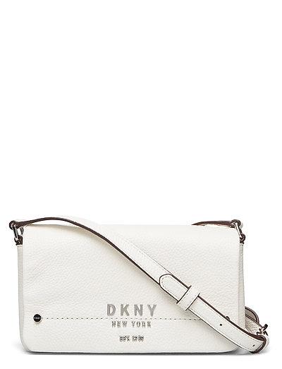 Erin-Sm Flap Cbody Bags Small Shoulder Bags - Crossbody Bags Creme DKNY BAGS