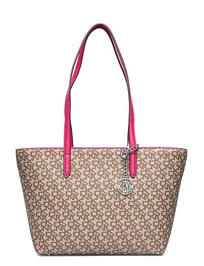 Bryant Lg Zip Tote Bags Shoppers Fashion Shoppers Beige DKNY BAGS