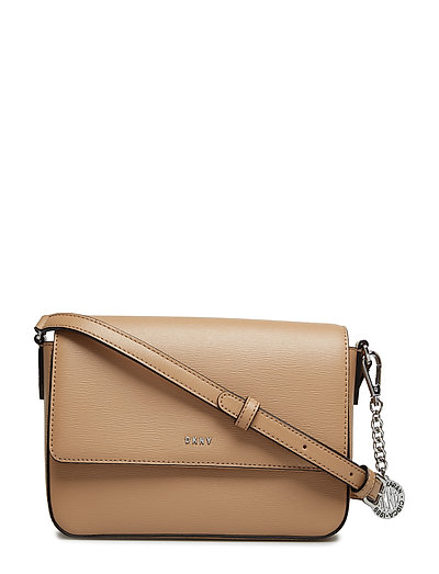 Bryant-Md Flap Xbody Bags Small Shoulder Bags - Crossbody Bags Beige DKNY BAGS