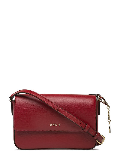 Bryant-Md Flap Xbody Bags Small Shoulder Bags - Crossbody Bags Rot DKNY BAGS