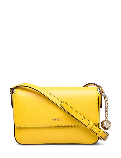 Bryant-Md Flap Xbody Bags Small Shoulder Bags - Crossbody Bags Gelb DKNY BAGS