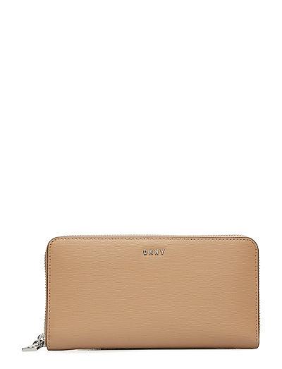 Slg Bryant Bags Card Holders & Wallets Wallets Beige DKNY BAGS