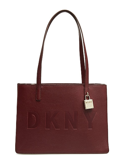 COMMUTER-MD TOTE-NO - BLOOD RED