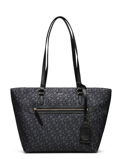 Casey-Md Tote-Logo Bags Shoppers Fashion Shoppers Schwarz DKNY BAGS