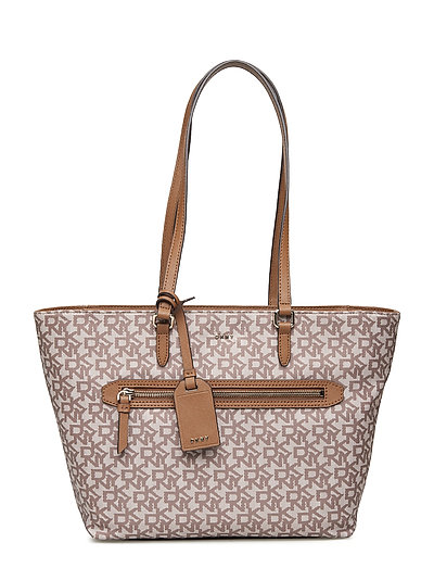 Casey-Md Tote-Logo Bags Shoppers Fashion Shoppers Pink DKNY BAGS