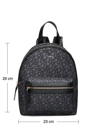 Casey-Md Backpack-Lo Rucksack Tasche Schwarz DKNY BAGS