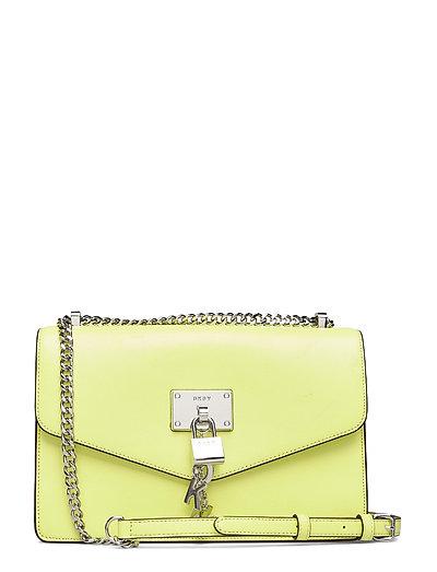 Elissa-Lg Shouldr Fl Bags Small Shoulder Bags - Crossbody Bags Gelb DKNY BAGS