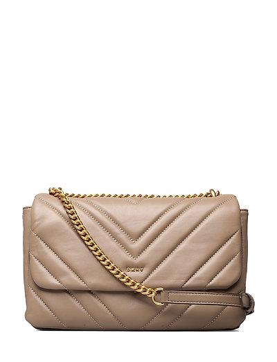 Vivian-Dbl Shouldr F Bags Small Shoulder Bags - Crossbody Bags Beige DKNY BAGS