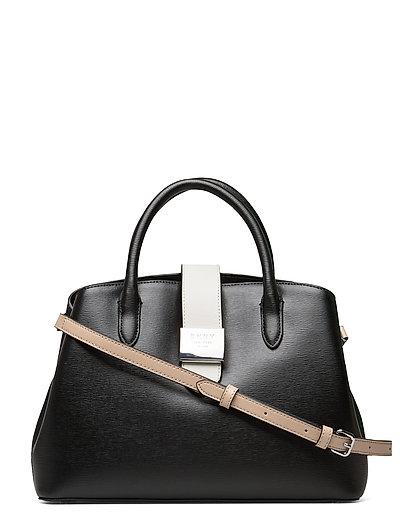 Lyla-Centr Zip Tote Bags Top Handle Bags Schwarz DKNY BAGS