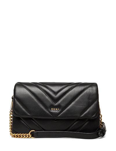 Vivian-Dbl Sm Cbody Bags Small Shoulder Bags - Crossbody Bags Schwarz DKNY BAGS