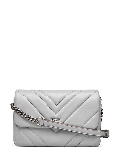 Vivian-Dbl Sm Cbody Bags Small Shoulder Bags - Crossbody Bags Grau DKNY BAGS