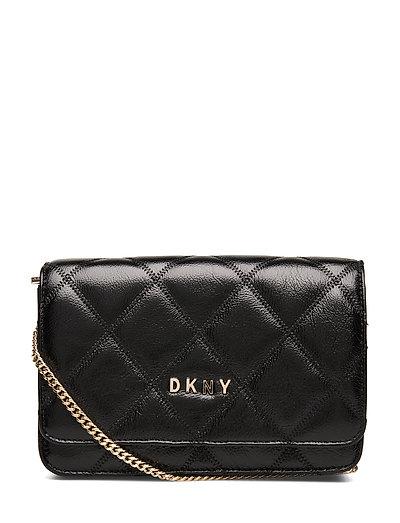 Sofia-Md Flap Cbody Bags Small Shoulder Bags - Crossbody Bags Schwarz DKNY BAGS