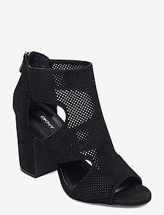 HELLI - SANDAL BOOTI - högklackade sandaler - black