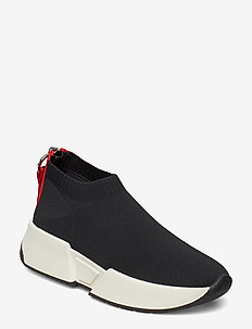 MARCEL - SLIP ON SNE - chunky sneakers - black