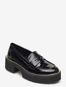 ALZ - LOAFER W/LUG - loafers - black