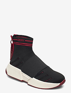 MARINI - SLIP ON SNE - chunky sneakers - blk/red 1