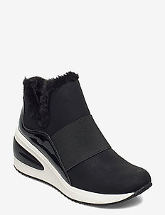 BORG - SLIP ON SNEAK - chunky sneakers - black