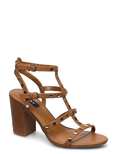 Hanz Sandale Mit Absatz Braun DKNY