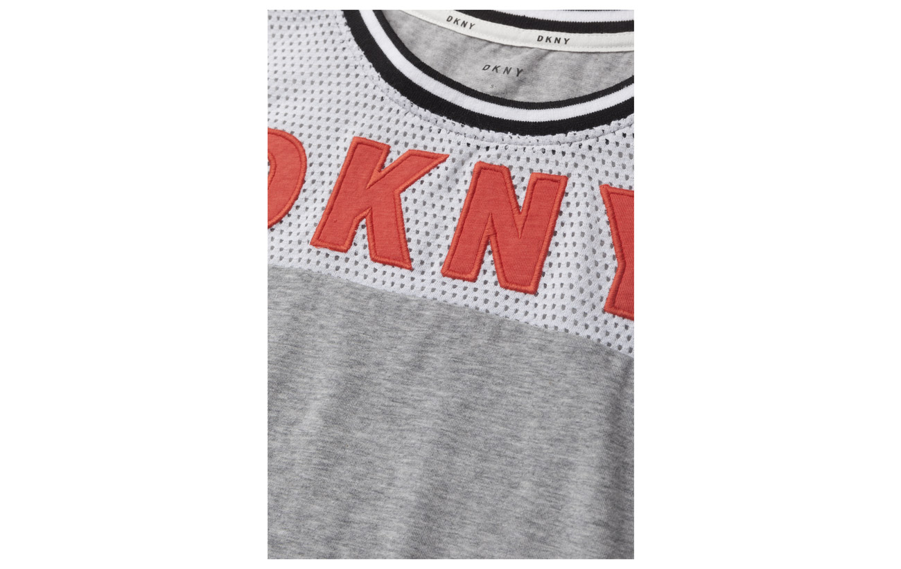 Homewear Out Dkny It Spell Black Spandexjersey Tee Sh sleeve 5 Viscose 95 6OZdx