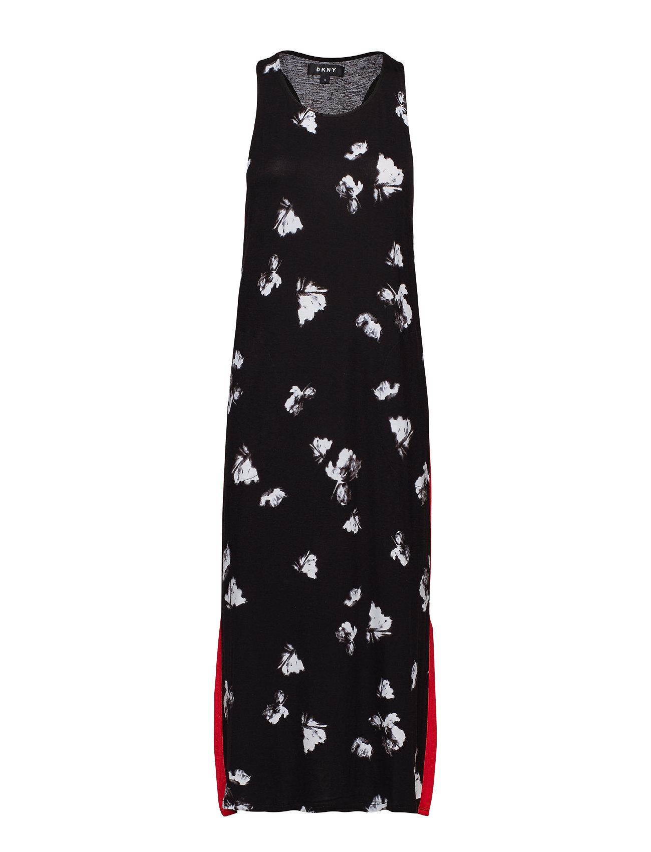 DKNY Homewear DKNY MODERN REFLECTION CHEMISE 122CM - BLACK FLORAL