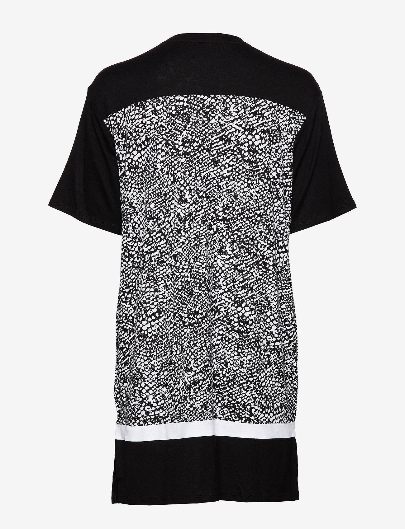 Dkny Shadow Play Sleepshirt S. Sl. (Black Snake) - DKNY Homewear ZwcBQJ