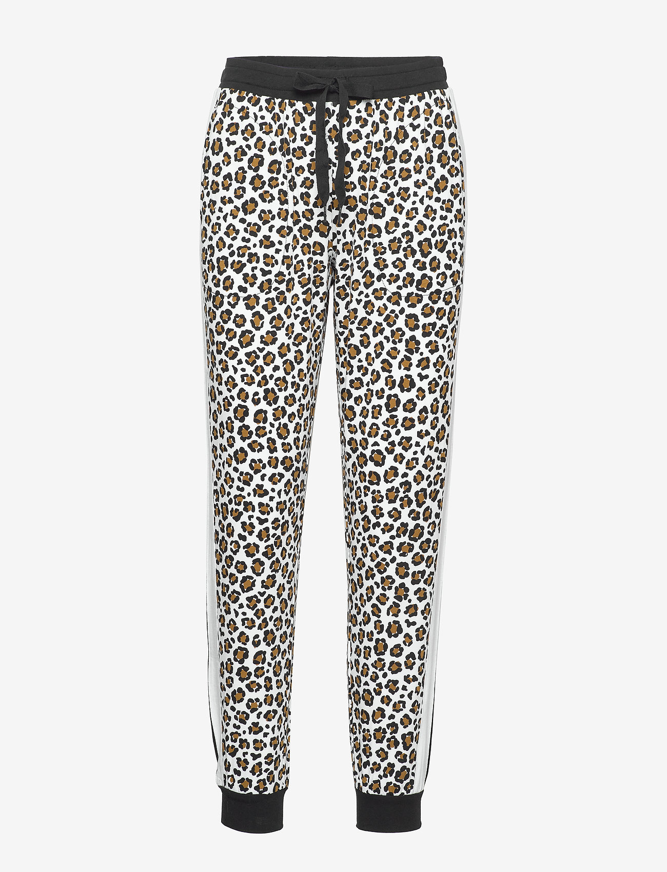 DKNY Homewear - DKNY LEAVING OUR MARK JOGGER - doły - white animal - 0