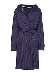 DKNY NEW SIGNATURE L/S ROBE 101 CM - INK