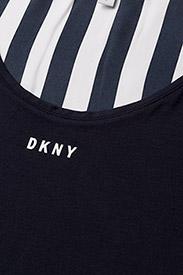 DKNY Homewear - DKNY WALK THE LINE TANK - oberteile - navy - 2