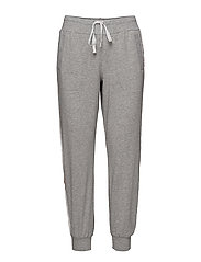 DKNY SPELL IT OUT JOGGER - GREY HEATHER