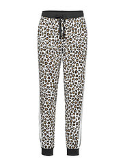 DKNY LEAVING OUR MARK JOGGER - WHITE ANIMAL