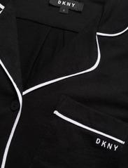 DKNY Homewear - DKNY NEW SIGNATURE S/S TOP & BOXER PJ - pyjama''s - black - 4